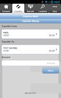 Screenshot of Emprise Bank