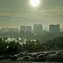 Morning traffic by Khairul Ikhsan Abdul Hamid - Transportation Other