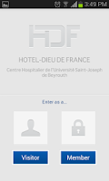Screenshot of Hotel Dieu de France Hospital