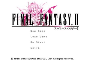 Screenshot of FINAL FANTASYII