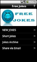Screenshot of Free Jokes