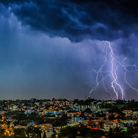 I see lightning everywhere... by Alexius van der Westhuizen - Landscapes Weather (  )