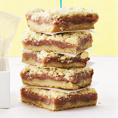 Pink Lemonade Crumb Bars