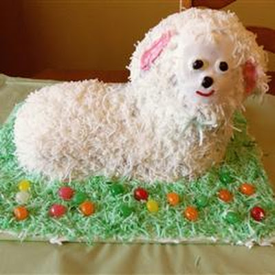 Coconut Lamb Cake