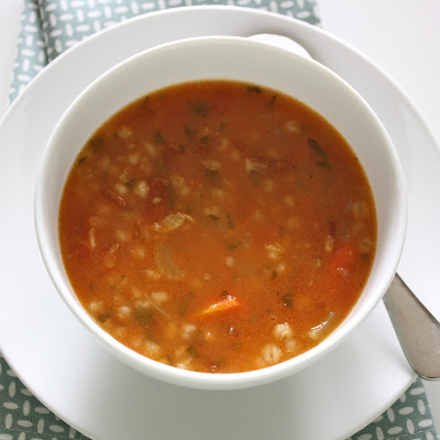 Vegetable Barley Soup