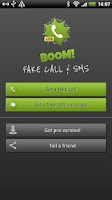 Screenshot of BOOM! Fake call and SMS Lite