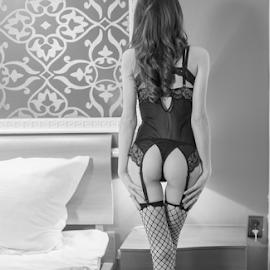 no name.. by Bogdan T. Fotografie - Nudes & Boudoir Boudoir ( stockings, erotic, body, girl, nude, boudoir, art, hot, legs, ass )