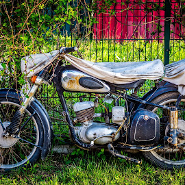 My old bike by Adrian Ioan Ciulea - Transportation Motorcycles ( old, bike, motorcycle, rusty, abandoned )