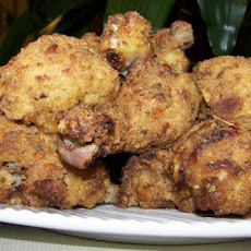 Spicy Oven-Fried Chicken