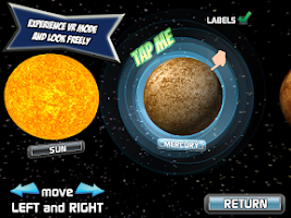 Screenshot of Popar Solar System Chart