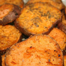 Sweet and Spiced Potato Slices