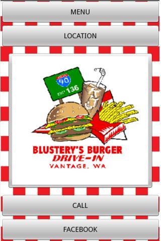 Blusterys Drive-In App