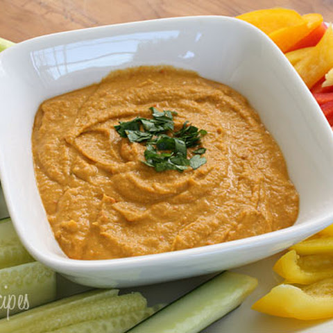 Chick Pea and Roasted Pepper Dip