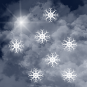 Fluffy Snow Free LWP icon