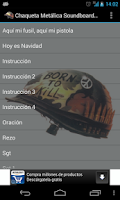 Screenshot of Chaqueta Metálica Soundboard