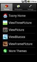 Screenshot of Toony Home