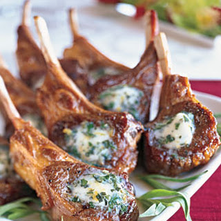 Sauteed Lamb Chops with Béarnaise Butter