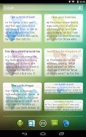 Screenshot of Words of Apostles Daily
