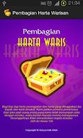 Screenshot of Pembagian Warisan (Faraidh)