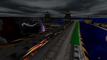 Screenshot of LevitOn Speed Racing HD