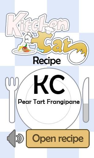 KC Pear Tart Frangipane
