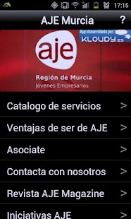AJE Murcia - screenshot