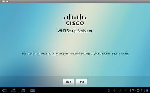 Cisco Network Setup Assistant