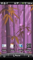 Screenshot of Bamboo Forest Live Wallpaper