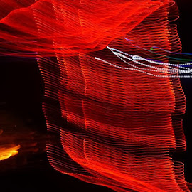 by Martin McCreath - Abstract Light Painting