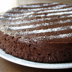 Flourless Chocolate Cake with Coffee Liqueur