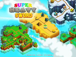 Screenshot of Super HEAVY Sword free