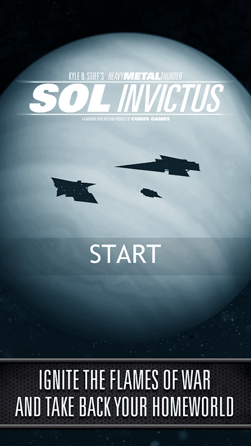 SOL INVICTUS: The Gamebook Screenshot 0