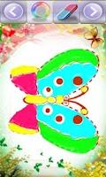 Screenshot of Pretty Butterflies for Kids