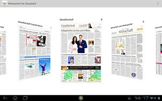 Screenshot of Rheinische Post ePaper