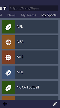 MSN Sports - Scores & Schedule APK screenshot thumbnail 4
