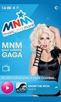 Screenshot of MNM, music and more