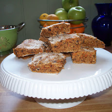 Candied Carrot and Currant Oatmeal Scones
