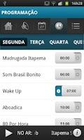Screenshot of Rádio Itapema