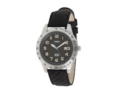 Timex - Mens Sport Collection Dress Watch (Black) - Jewelry