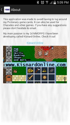 Game Word Generator - screenshot