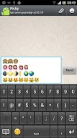 Screenshot of New Emoji Keyboard