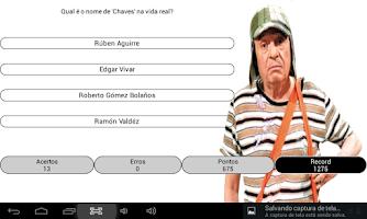 Screenshot of Quiz - Chaves