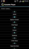 Screenshot of Ulduzsoft Karaoke Player