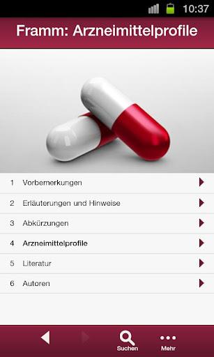 Arzneimittelprofile