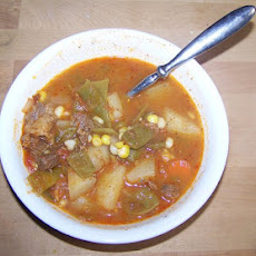 Hearty Hoosier Beef Vegetable Soup