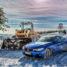BMW 4 Coupe xDrive by Dimitar Novkov - Transportation Automobiles ( series, xdrive, coupe, bmw )