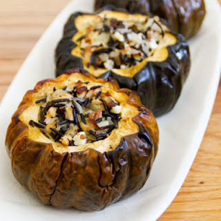 Cranberry Stuffed Acorn Squash Recipes