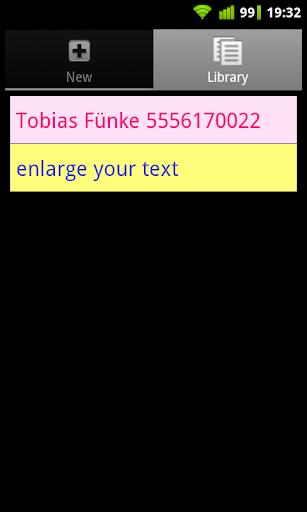 【免費工具App】Large Text Lite-APP點子