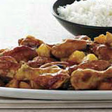 Pineapple Chicken Wings