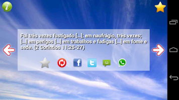 Screenshot of Versículos e Frases Bíblicas